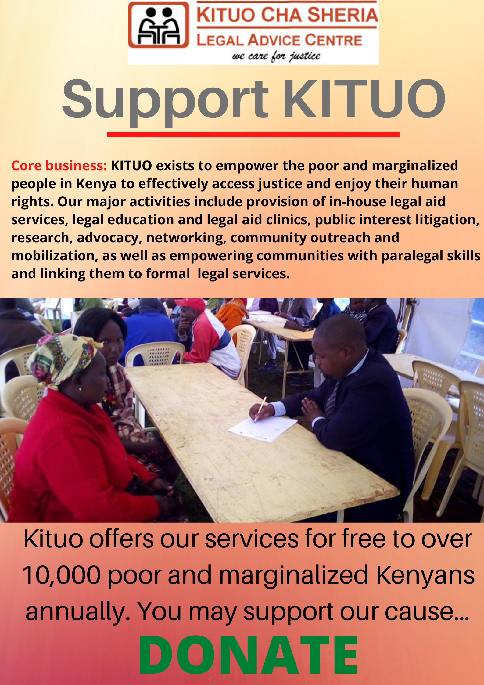Support KITUO
